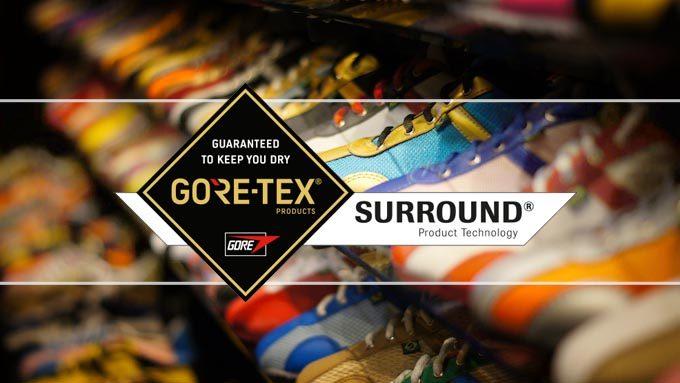 蒸れない靴『GORE-TEX SURROUND(ゴアテックスサラウンド)』イメージ01