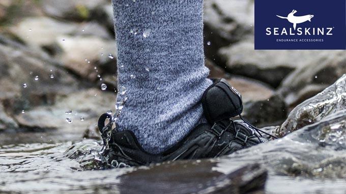 防水・防風ソックス(靴下)イメージ02
