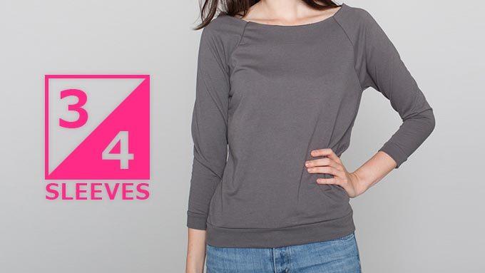 7分袖・5分袖の速乾Tシャツ&カットソーイメージ01