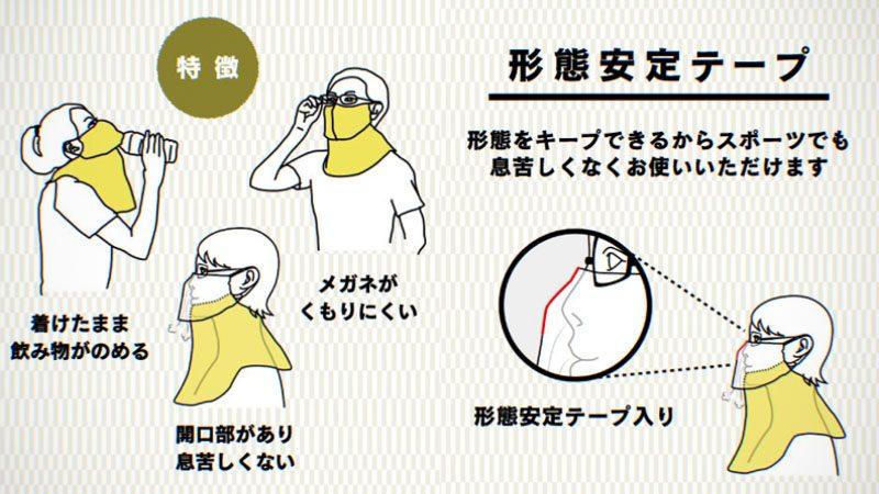 ネックゲイター・フェイスマスク『ヤケーヌ/YAKENU』感想イメージ03